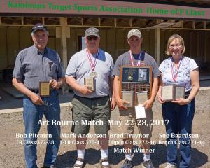2017 Art Bourne Memorial Match