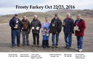 2016 Frosty Farky Memorial Match